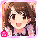 "SSR Shimamura Uzuki ""Smile and Treat"""