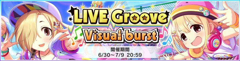Live Groove Visual burst Round 5